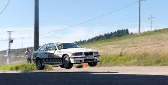 Asier Tejado Slalom Cabezon de la Sal BMW