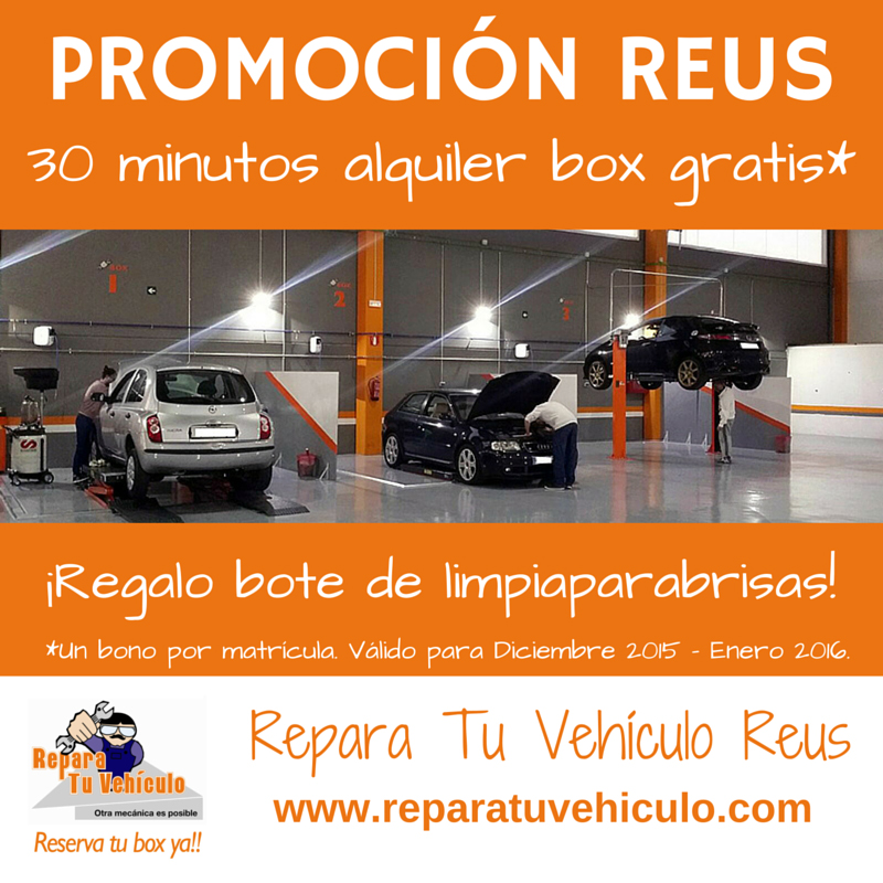Bono Repara Tu Vehiculo Reus