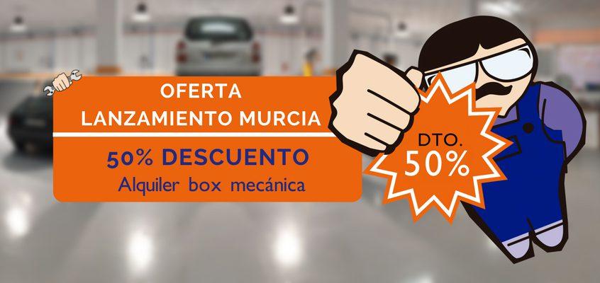 Promoción de lanzamiento en Repara Tu Vehículo Murcia