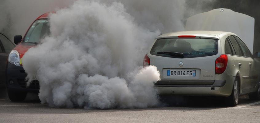 vehiculo contaminacion