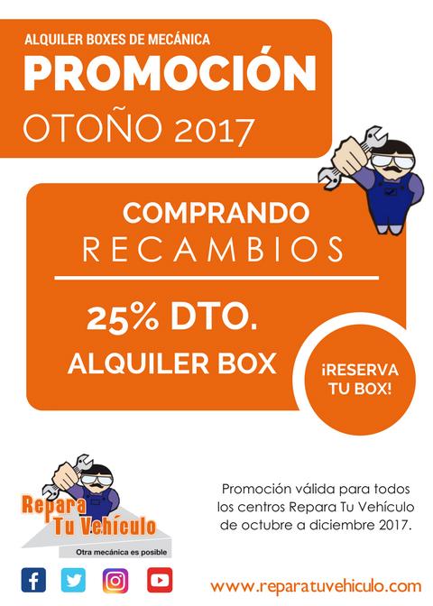 PROMO RTV OTOÑO 2017 25 DTO copia