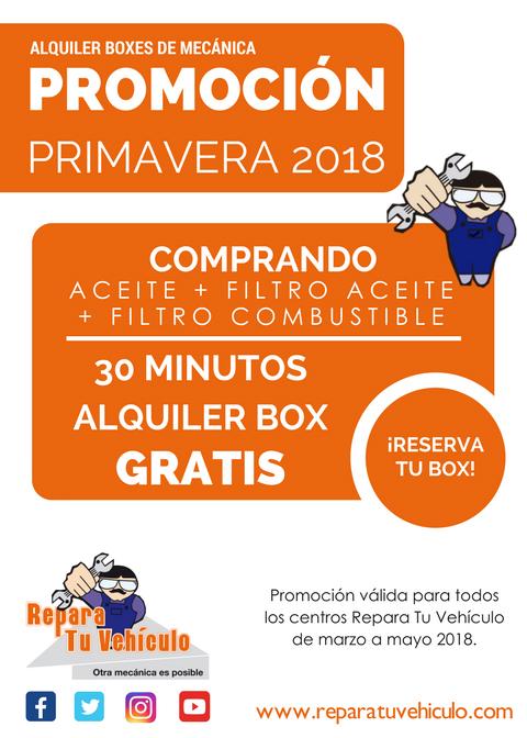 PROMOCIÓN PRIMAVERA 2018 30 MINUTOS copia