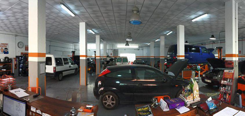 Centro Repara Tu Vehículo Murcia panorámica